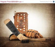 Vintage Hockey Blocker Gloves and Stick Photo by shawnstpeter Photo On Wood, Photo Art, Vintage Sports Nursery, Boys Room Decor, Boy Room, Nursery Room, Hockey Nursery, Hockey Room, Baseball Wall Art