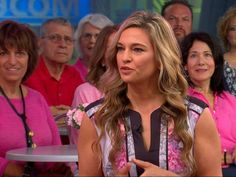 PHOTO: Dr. Kristi Funk appears live on GMA to share diet and lifestyle tips to help prevent breast cancer. #breastcancerpreventiontips