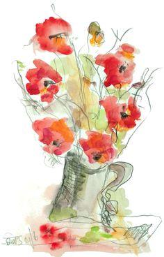 RedFflower by SeferArt