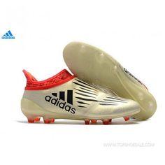 80fd1c55 Adidas X 16+ Purechaos FG ADIDAS BA7628 MENS Off White/Core Black/Red