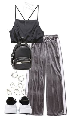 """""""Untitled #4750"""" by theeuropeancloset ❤ liked on Polyvore featuring Prae, Alexander McQueen, Alexander Wang, ASOS and Estella Bartlett"""