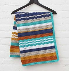 Ontario crochet baby blanket, de Maaike van Koert. http://www.ravelry.com/patterns/library/ontario-crochet-baby-blanket