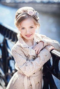 Karina Egorova (born August 13, 2006) Russian child model. Barbara & Victoria Photography.