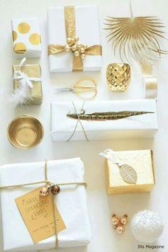 Envolver regalos con blondas de papel en navidad for Regalos originales decoracion