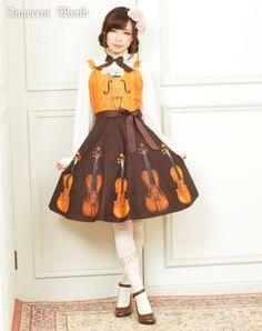 Innocent World Online Shop, Stradivarius Flare Jumperskirt