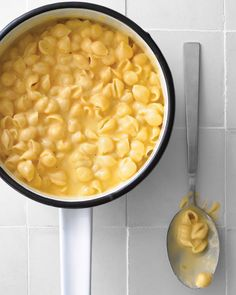 Stovetop Mac and Cheese (martha stewart) >> for Jeff. :)