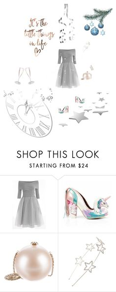 """Christmas Party"" by fuffa ❤ liked on Polyvore featuring Irregular Choice, Chanel, Cara and By Terry"
