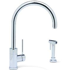 Purus II Single-handle Kitchen Faucet at Remodelista