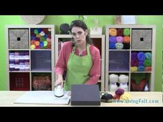 ▶ Needle Felting A Picture Free Tutorial - YouTube