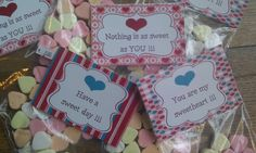 Toon je liefde met zoetigheid.  Een hartje voor mijn hartje. Idee voor Valentijn.