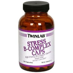 Twinlab, Stress B-Complex Caps with Vitamin C, 100 Capsules *** Want to know more, visit http://www.amazon.com/gp/product/B0009F3QEI/?tag=homeimprtip08-20&pxy=060816043606