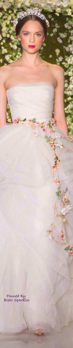 BRIDAL REEM ACRA FALL 2015 ♕♚εїз | BLAIR SPARKLES |