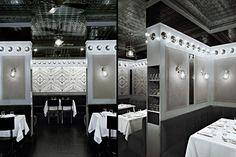Commercial Interiors. Charles Restaurant.  Designer: Rafael de Cárdenas.