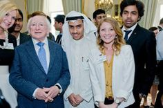 American student, Olivia Weaver, our Griffith College Dublin ambassador describes how she felt the day she was awarded for her achievements at the Department of Education, and met the President of Ireland at his home.
