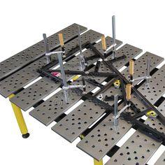 TMA57838, Strong Hand BuildPro Welding Table Jig Fixture