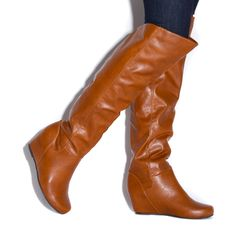I might actually be able to do these boots because the heel isn't that obvious.