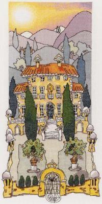 Tuscan Gardens I - Michael Powell