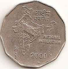 Independent India issues: The introduction and experiments of social themes on the two-rupee coins. Old Coins For Sale, Sell Old Coins, Old Coins Value, Louis The Pious, Old Coins Price, Rare Coin Values, Ancient Indian History, Valuable Coins, Foreign Coins