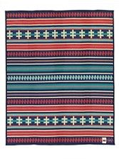 Pendleton Ribbon Dance Blanket A portion of the proceeds from this blanket will be donated to the American Indian College Fund