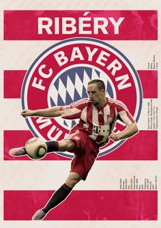 The Ribery/Bayern München poster