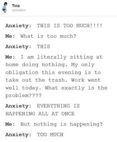 I wish I could actually explain this feeling to people...