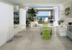Perfecte imitatie Beton Cire (ciré) vloertegels in 75x150 (37) Tegelhuys