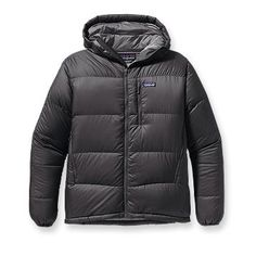 Patagonia Men's Fitz Roy Down Hoody Color Black Size Medium