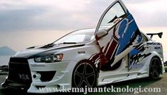 Modifikasi Mobil Mitsubishi Lancer EX 2009 | Kemajuan Teknologi
