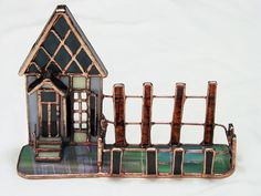 Miscellaneous Stained Glass /Card House