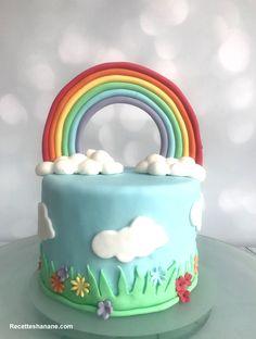 Gâteau Arc-en-ciel  - Gâteau Rainbow