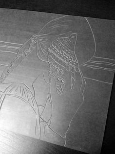 Set Forth Studio – Conch Linocut Print in Progress // Woman listening to the ocean in a shell // This art print will look gorgeous on your wall, or makes a great gift! Using traditional linocut techniques, each original print is individually drawn, carved, inked, hand-pulled and subtly unique! The shop is chock-a-block with greeting cards & paper goods to reignite your penchant for snail mail, and graphic artwork to fill that vacant spot in your reading nook.