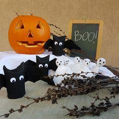 Pipistrelli porta caramelle e fantasmi lecca lecca  Make a Wish - Feste Design Eventi