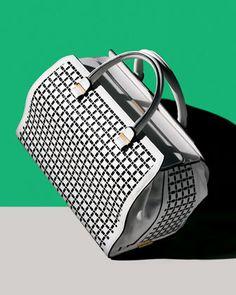 Victoria Soft Double-Handle Handbag by Victoria Beckham | http://www.oliviapalermo.com/taking-shape/