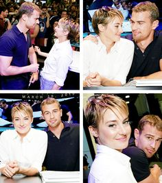 """San Diego Comic-Con: Summit Entertainment's """"Divergent"""" talent signing on July 26th, 2014"""