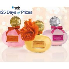 Look and feel like a COACH girl with a new fragrance wardrobe for summer! Enter now for your chance to win! #belk125