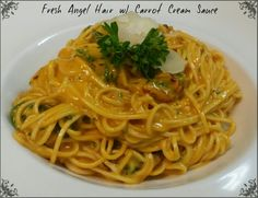 Handmade Angel Hair with Aleppo - Carrot Cream
