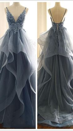 Stunning Prom Dresses, Pretty Prom Dresses, A Line Prom Dresses, Tulle Prom Dress, Quinceanera Dresses, Elegant Dresses, Cute Dresses, Formal Prom Dresses, Prom Dreses