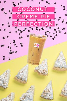 What's better than a refreshing iced coffee? ☀️ Our new Coconut Creme Pie flavored coffee, of course! Introducing our brand new on-trend flavor, combining authentic coconut flavor that pairs perfectly with the sweet, roasted flavor profile of our coffee.