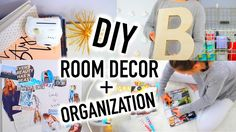 DIY Room Decor + Organization for 2016!