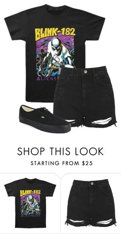 """""""Untitled #560"""" by bands-are-my-savior ❤ liked on Polyvore featuring Topshop and Vans"""