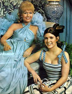 Debbie Reynolds, Carrie Fisher - Ladies Home Journal - June, 1973