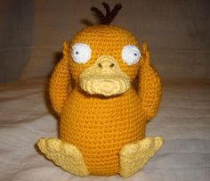 WolfDreamer: PSYDUCK with pattern- This website has lots of cool patterns, mostly of pokemon