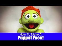 How To Make A Fleece Pattern - Part 3 - Puppet Building 101 How To Make Socks, How To Make Foam, Felt Puppets, Hand Puppets, Finger Puppets, Ventriloquist Puppets, Types Of Puppets, Puppet Patterns, Doll Patterns