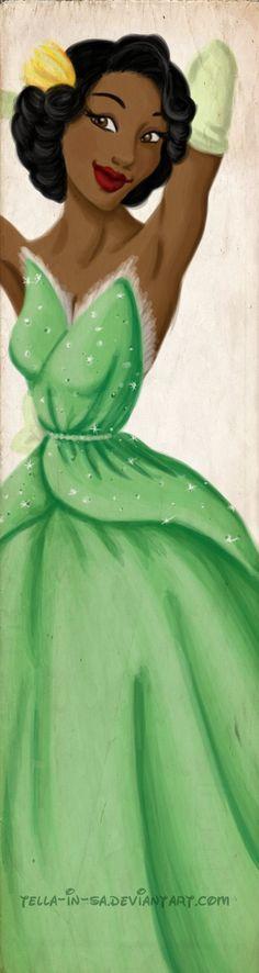 deviantART: More Like Tiana Wedding Concept Sketch by ~papayabanana