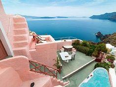 Villa am Meer, - Villa 3 Schlafzimmer, Schlafmöglichkeiten für 7Ferienhaus in Oia  von @HomeAway! #vacation #rental #travel #homeaway