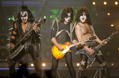 rock music singers   ap photo hard rock legends kiss is one of many monsters of rock ...