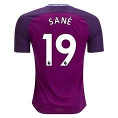 Nike Leroy Sane Manchester City Away Jersey 17/18