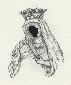 • drawing Illustration death hipster vintage Grunge tattoo strange cult flash satanic occult 2014 dotart neotraditional dot art neotrad lowfi666 lowfi666 •
