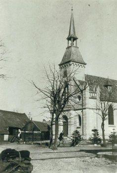 Bussum - Kerk. Lang voor het de eerste studio van Nederland werd... Old Pictures, Holland, Studio, The Nederlands, Antique Photos, Old Photos, The Netherlands, Studios, Netherlands