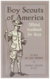 Boy Scouts of America: Official Handbook 1911 for Boys.He is also an Eagle Scout.